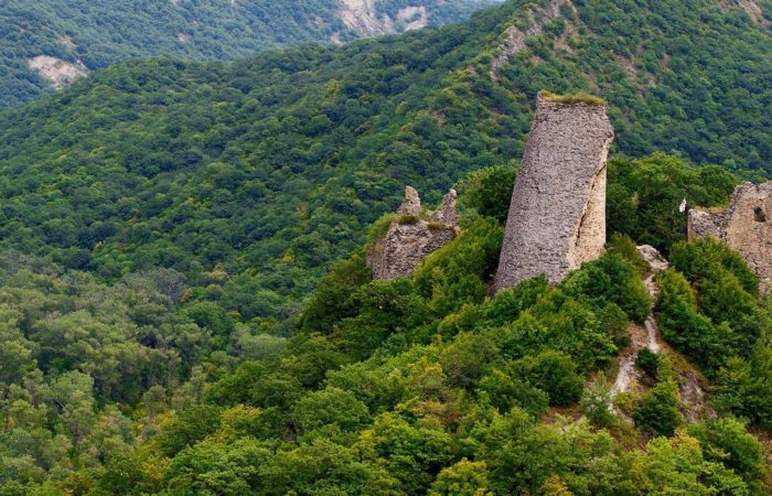 Kakheti,Fortress of the 6th century