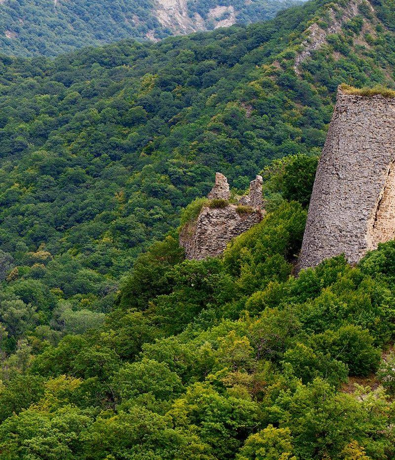 Kakheti,Fortress of the 6th century