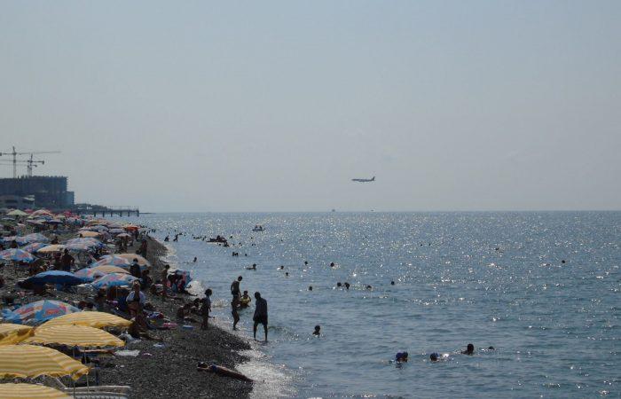Batumi, Beach